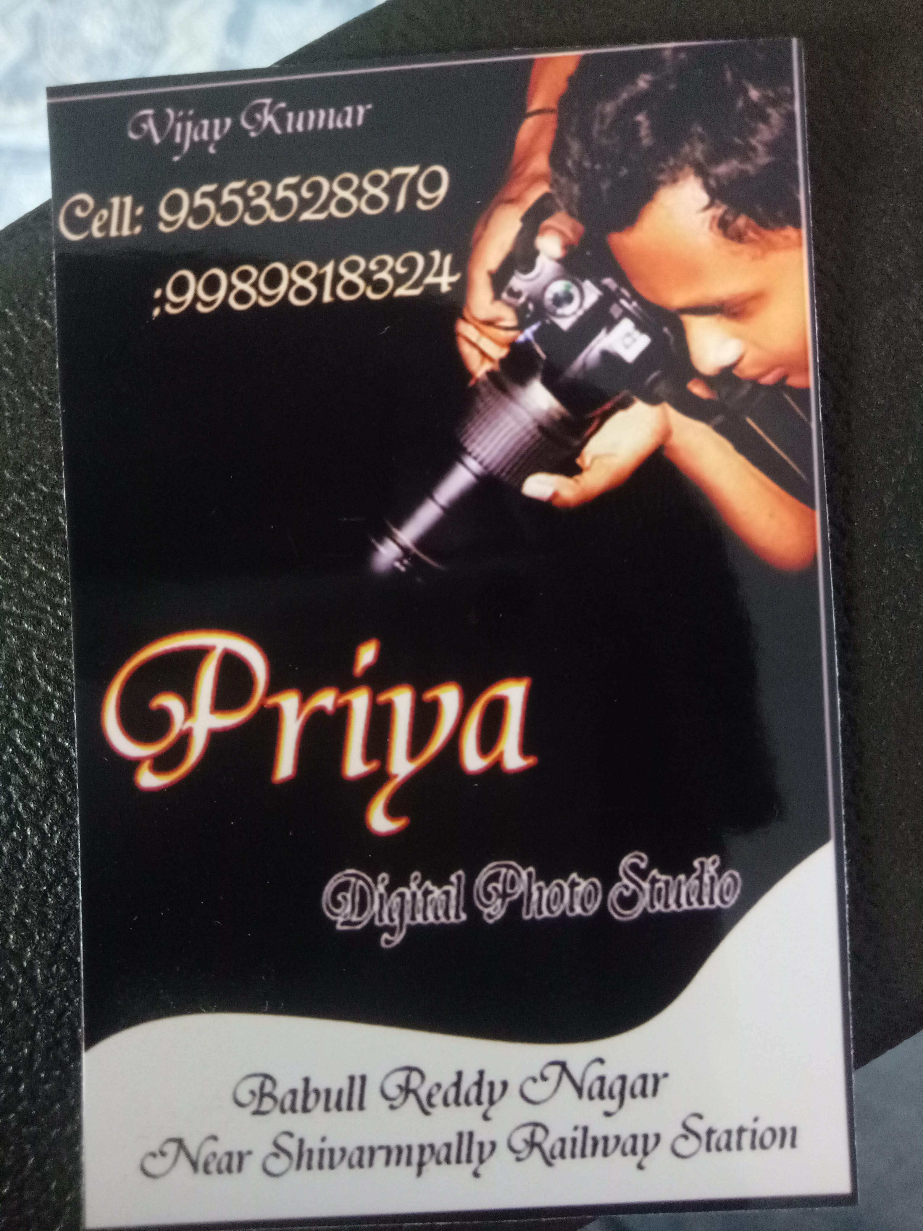 priya digital photo studio