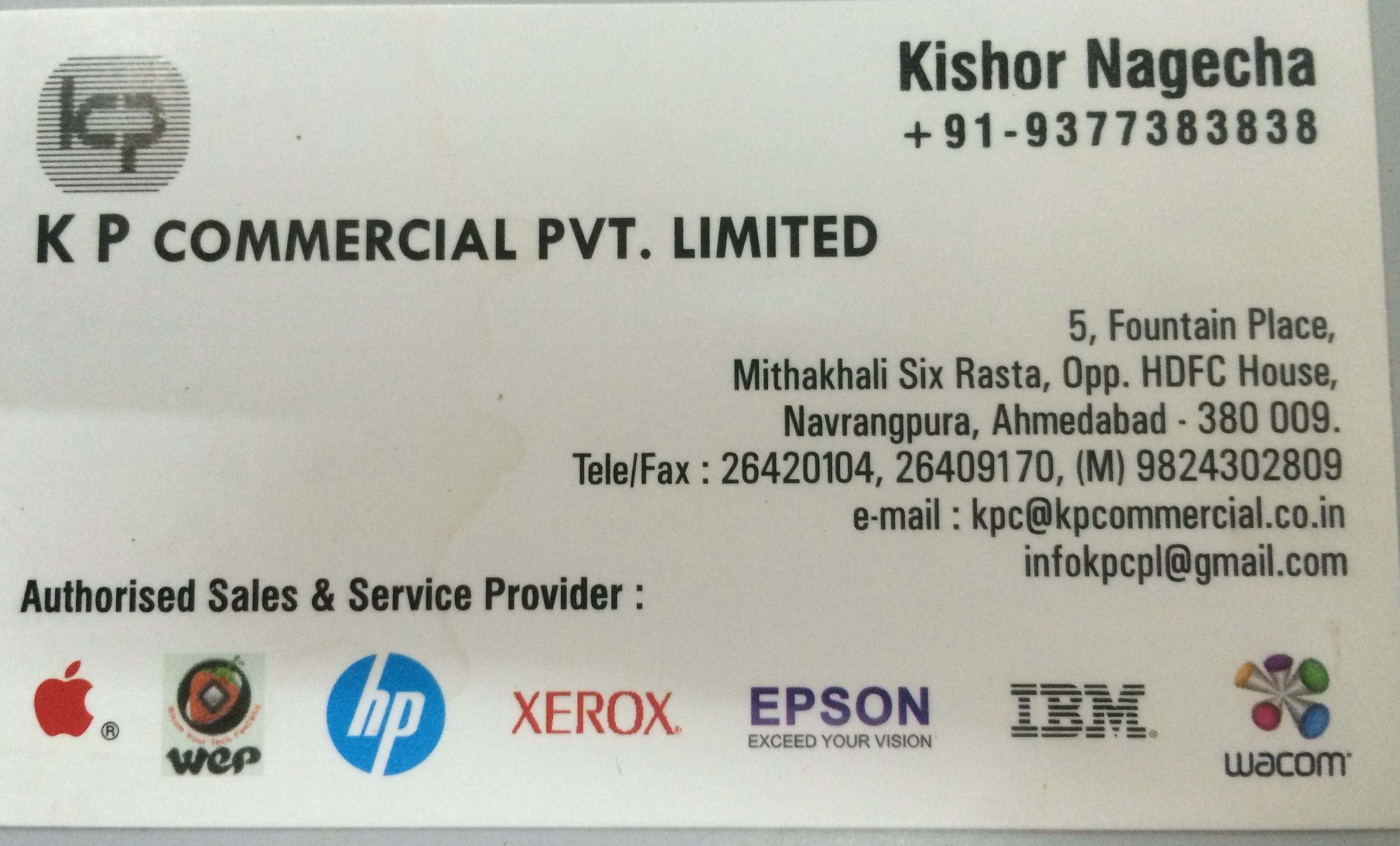K P Commercial Pvt Ltd
