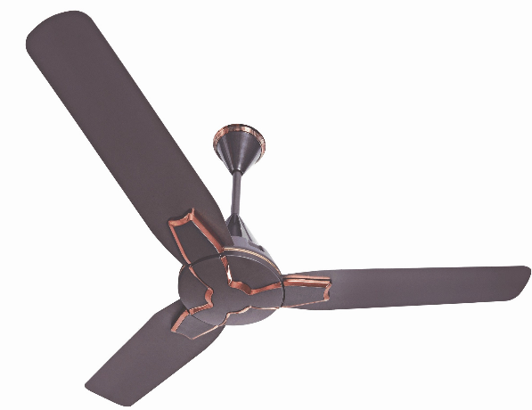 Brown Color Wall Decorative Ceiling Fans  BLDC Technology