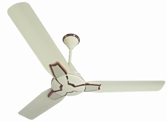 Cream Color Wall Decorative Ceiling Fans  BLDC Technology