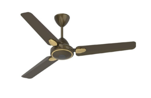 Brown Color Wall-Regulator Ceiling Fan